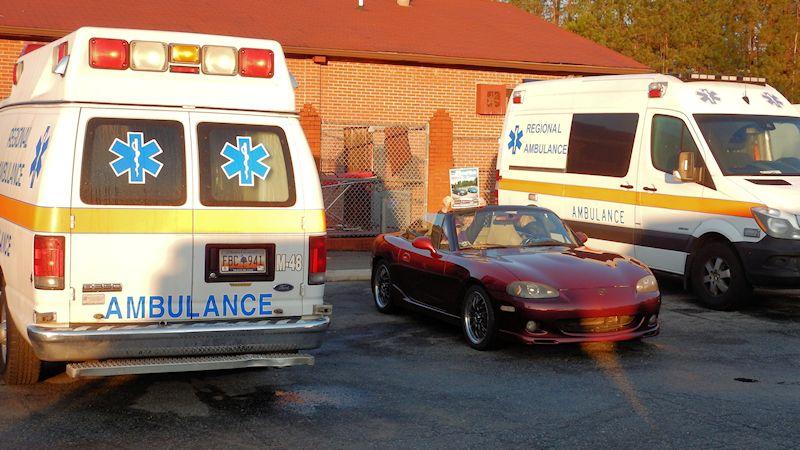 Moving (or Parked) Targets - Ambulance