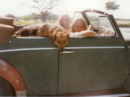 Donna, Sandy & Dog