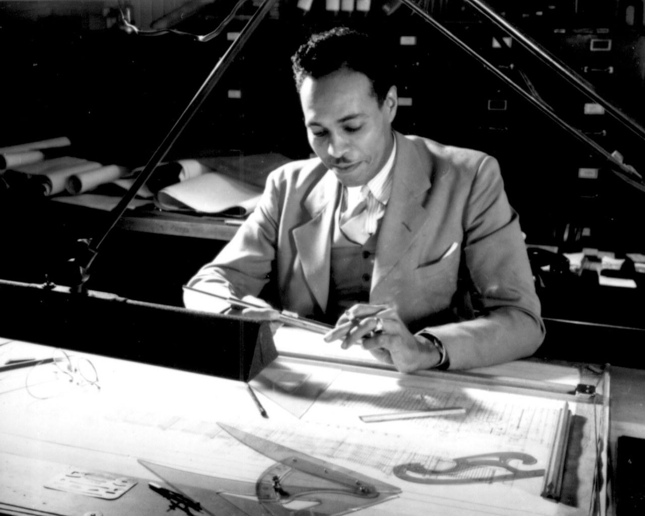 African American Draftsman