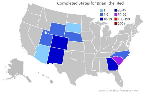 US State Finds Map