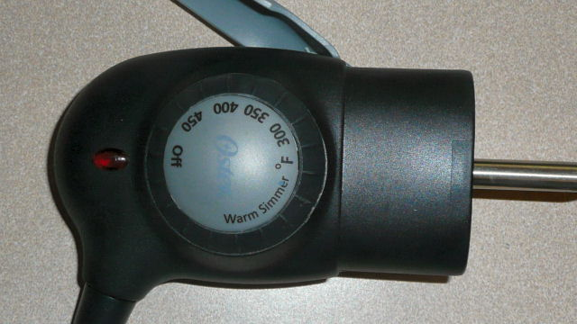 Electric Skillet Temperature Knob