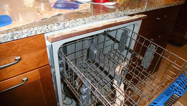 Dish Washer Tries To Escape