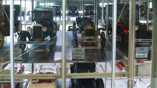 Cars Under Glass