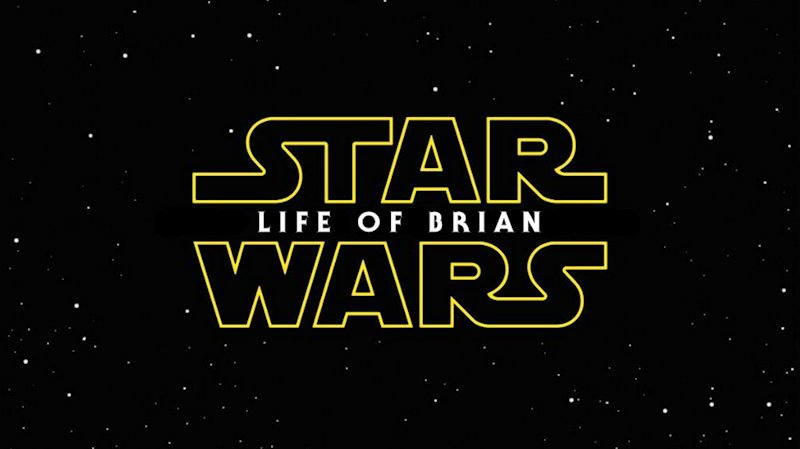 Star Wars Episode 7 Title Screen