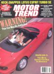 Cover - July 1989 Motor Trend