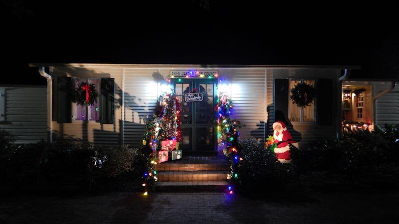Christmas Lights in Hopelands Gardens - Life of Brian