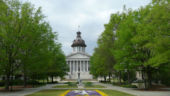 SC State Capitol Back