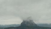 Devils Tower Obscured